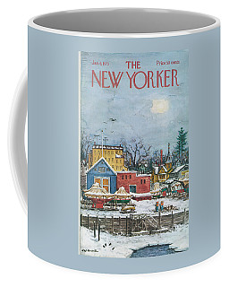 New Yorker January 6th, 1973 Coffee Mug