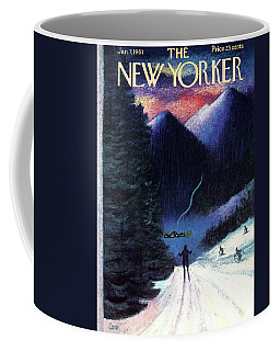 New Yorker January 7th, 1961 Coffee Mug