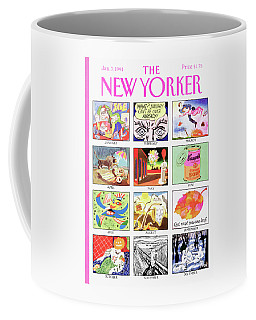 New Yorker January 7th, 1991 Coffee Mug