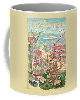 New Yorker January 8th, 1955 Coffee Mug