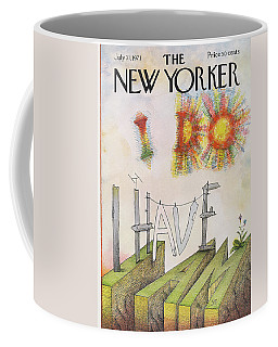 New Yorker July 31st, 1971 Coffee Mug