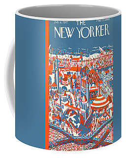 New Yorker July 4th, 1925 Coffee Mug