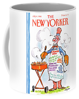 New Yorker July 4th, 1988 Coffee Mug