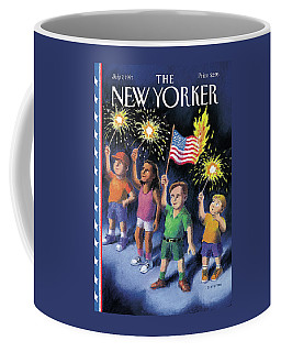 New Yorker July 7th, 1997 Coffee Mug