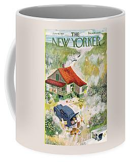New Yorker June 12th, 1954 Coffee Mug