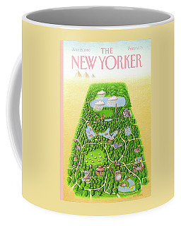 New Yorker June 25th, 1990 Coffee Mug