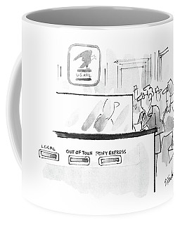 New Yorker November 17th, 1986 Coffee Mug