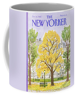 New Yorker October 14th, 1985 Coffee Mug