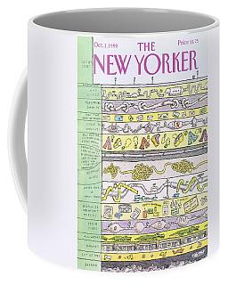 New Yorker October 1st, 1990 Coffee Mug