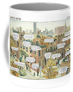 New Yorker October 2nd, 2000 Coffee Mug