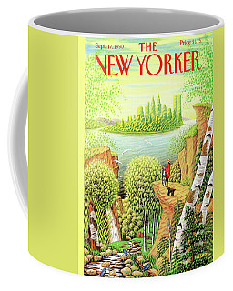 Green New York Coffee Mug