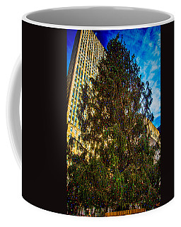 Coffee Mug featuring the photograph New York's Holiday Tree by Chris Lord