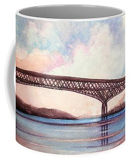 Newburgh Beacon Bridge Sky  Coffee Mug