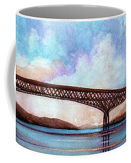 Newburgh - Beacon Bridge Sky Pano  Coffee Mug