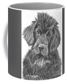 Newfoundland Puppy Sketch Coffee Mug