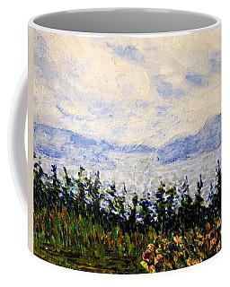 Coffee Mug featuring the painting Newfoundland Up The West Coast by Ian  MacDonald