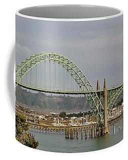 Newport Bay Bridge Coffee Mug by Susan Garren