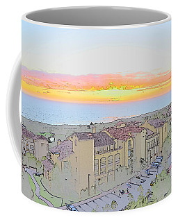 Coffee Mug featuring the photograph Newport Coast Sunset by Penny Lisowski