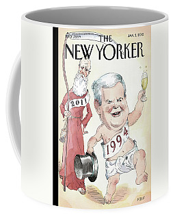 Newt Gingrich And Father Time Coffee Mug