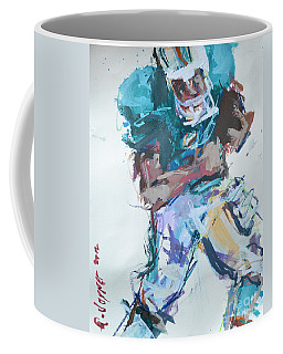 Nfl Football Painting Coffee Mug