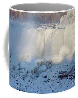 Niagara Falls In Winter Coffee Mug