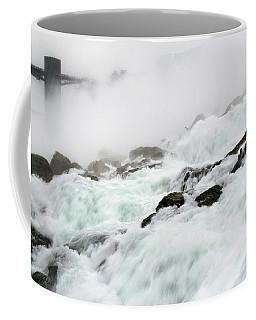 Niagara Falls With Observation Tower Behind Coffee Mug