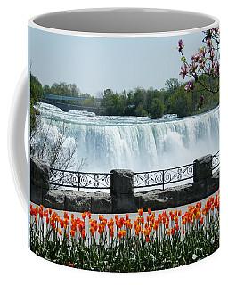 Niagara - Springtime Tulips Coffee Mug by Phil Banks