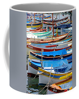 Nice Boats  Coffee Mug by Suzanne Oesterling