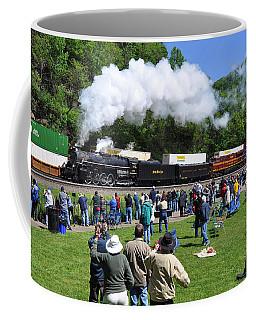 Nickel Plate Berkshire At Horseshoe Curve Coffee Mug
