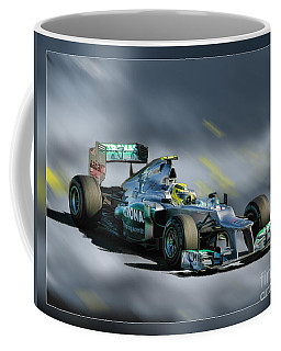 Nico Rosberg Mercedes Benz Coffee Mug