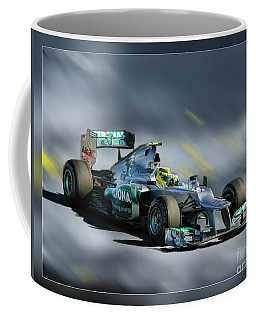 Nico Rosberg Mercedes Benz Coffee Mug