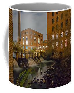 Night At The River Coffee Mug