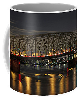 Night Crossing At I-5 Coffee Mug