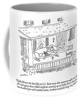 Night Fell Over The Land Like An L.l. Bean Coffee Mug