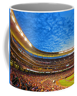 Night Game At Target Field Coffee Mug