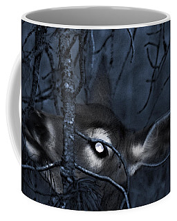 Coffee Mug featuring the photograph Night Grazing by Janie Johnson