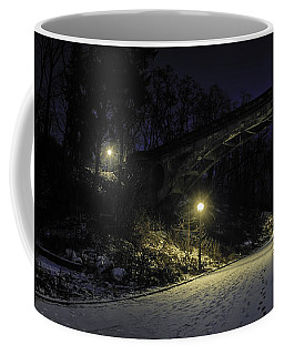 Night Hushed The Shadowy Earth Coffee Mug