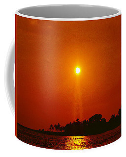 Coffee Mug featuring the photograph Night In Kona by Athala Carole Bruckner