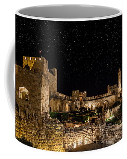Night In The Old City Coffee Mug by Alexey Stiop