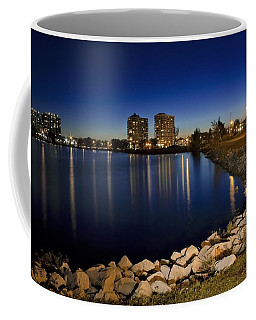 Night Light In Barrie Coffee Mug