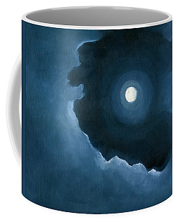 Coffee Mug featuring the painting Night Light by Katherine Miller