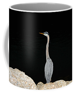 Night Of The Blue Heron 2 Coffee Mug
