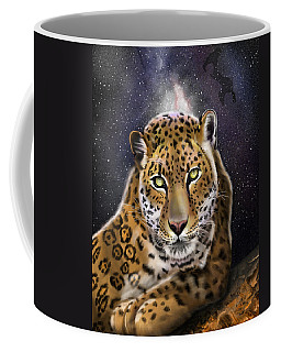 Fourth Of The Big Cat Series - Leopard Coffee Mug