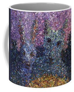 Coffee Mug featuring the painting Night Offering by James W Johnson