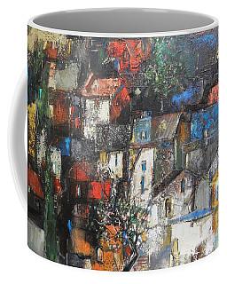 Night Over The Town Coffee Mug