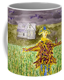 Night Owl Scarecrow Coffee Mug