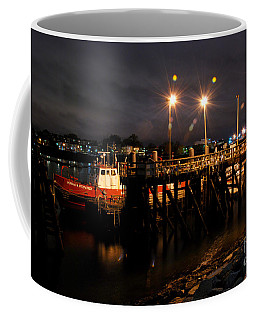 Night Pier Coffee Mug