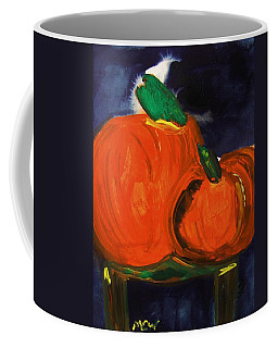 Night Pumpkins Coffee Mug