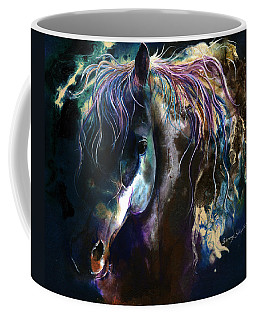 Night Stallion Coffee Mug