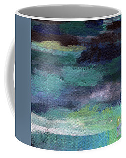 Night Swim- Abstract Art Coffee Mug